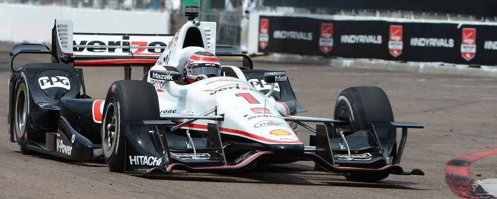 Strong start for Power; five below '14 pole lap