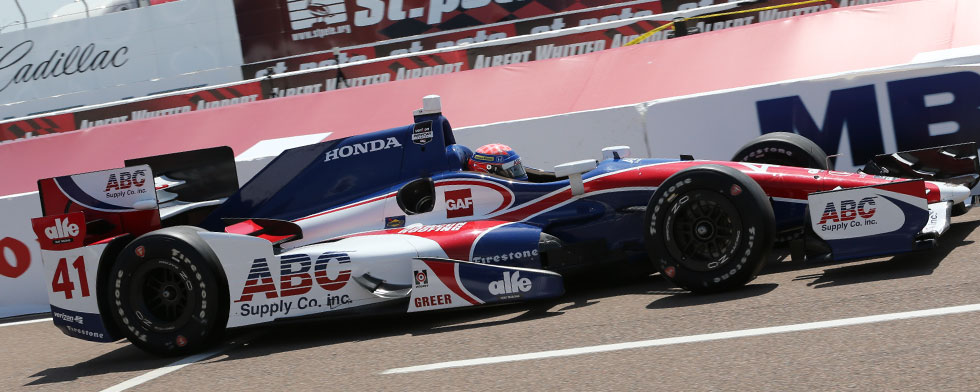 Hawksworth's eventful day results in 8th place