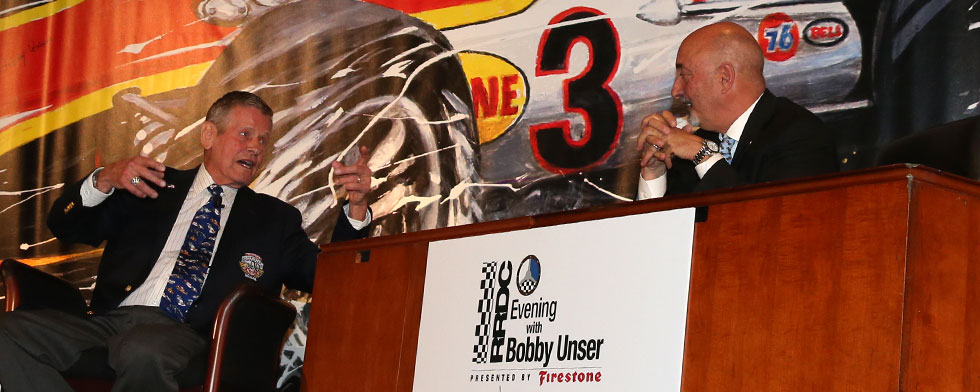 Notes: Unser has a few career stories to tell