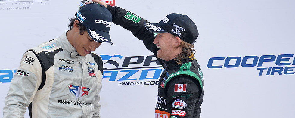 Tan, Alberico win Pro Mazda wins at Barber