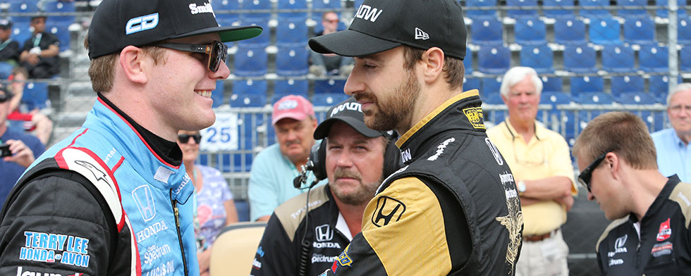 Daly seeks out Hinchcliffe for Belle Isle debrief