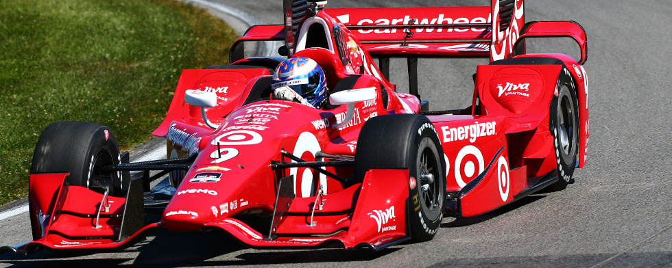 Dixon quickest in practice; sixth-tenths off record