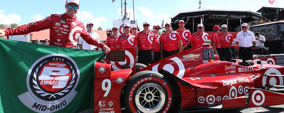 Dixon shatters Mid-Ohio record in earning pole