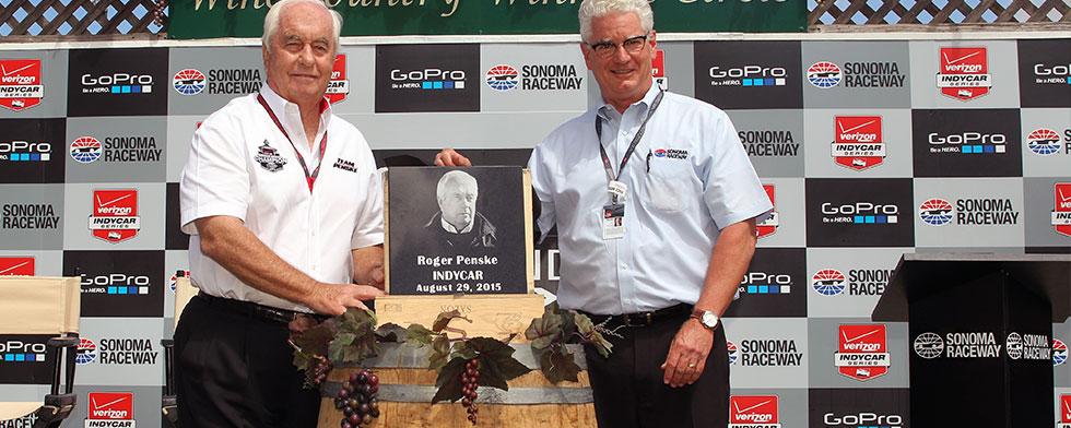 Notes: Penske asks for Wilson's name on plaque