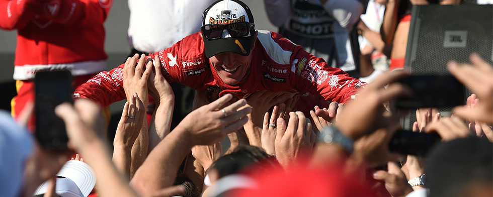 Ganassi, Dixon catch a wave after title clincher