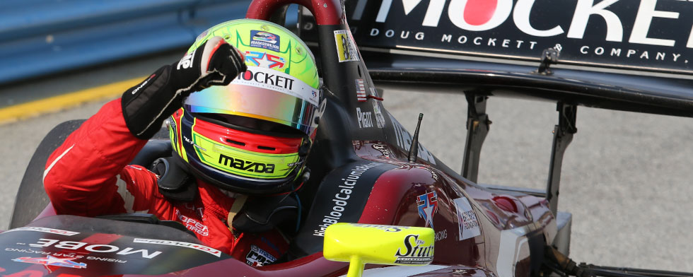 Homegrown champion: Pigot wins Indy Lights title